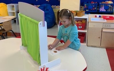 Prekindergartners Learn About Voting