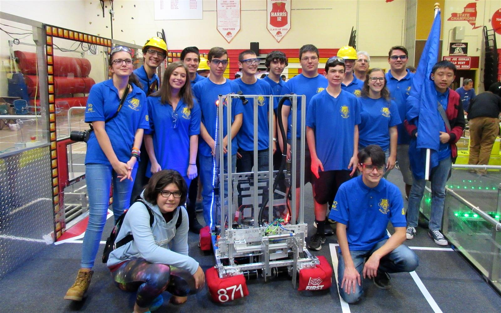 A Third Consecutive Win for the Robotechs