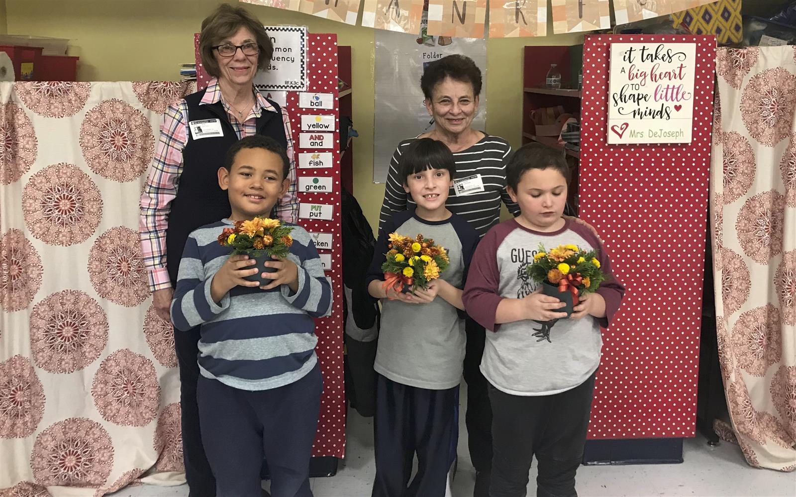 Garden Club Reps Demonstrate Centerpiece Creation at Bellew