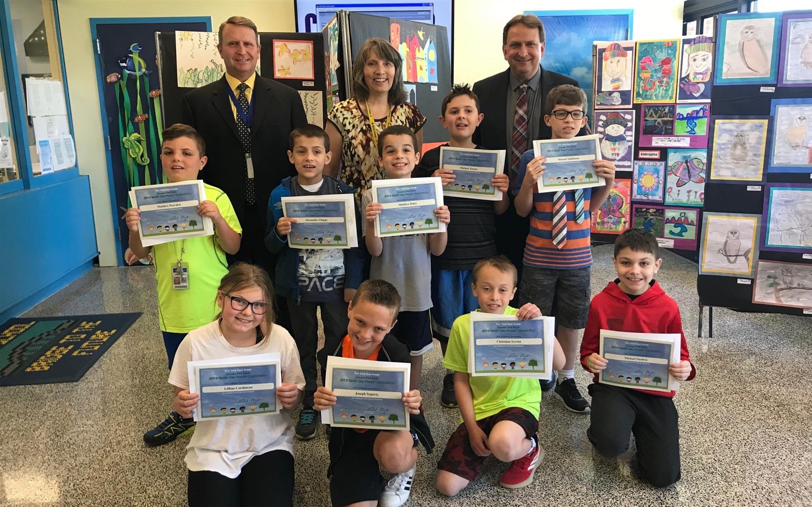Bayview and Bellew Student-Artists Recognized by State Senate