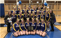 Lady Lions Win County Cheerleading Championship