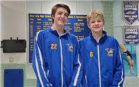 High School qualifies two divers for state championships thumbnail162085
