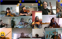 Middle School Musicians Play Virtual Spring Concert thumbnail173041