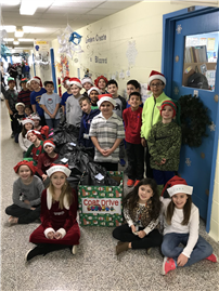 Bayview Third-Graders Collect More Than 100 Coats for Donation Drive 2
