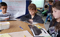 Bellew Second-Graders Explore Astronomy Via 'The Big Dipper'
