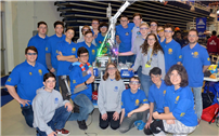Robotics Team Comes Home with Two Awards