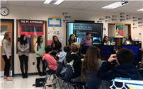 HS Students Visit Middle Schools to Share Passion for Business 2