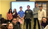 HS Students Visit Middle Schools to Share Passion for Business 3
