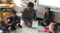 Math Director Helps Oquenock Students Solve Problems