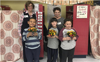 Garden Club Reps Demonstrate Centerpiece Creation at Bellew thumbnail161039