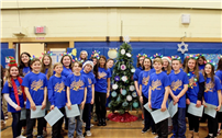 Udall Chorus Sings at Manetuck's Indoor Tree Lighting thumbnail146740