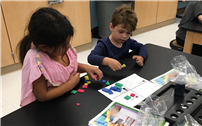 Bellew Kindergartners Sort and Classify in the STEM Lab