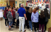 Beach Street Students Visit Vets Wall of Honor