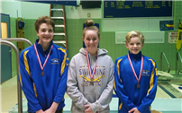 Three HS Divers Advance to Championships