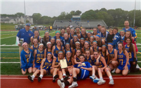 Girls' Lax Team Wins LI and County Championships