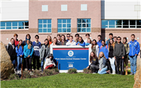 Research Students Visit Plum Island