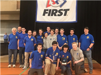 Robotics Team Comes Home with Two Awards 3
