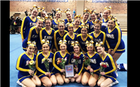 Lady Lions Win County Cheerleading Championship 2