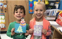 Bellew Students Show Caring with Cards for Troops